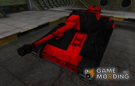 Черно-красные зоны пробития VK 30.02 (D) для World of Tanks