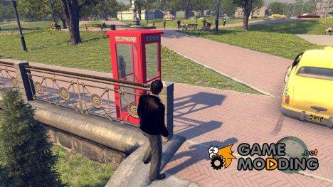 Красная телефонная будка для Mafia II