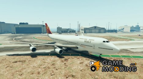 Mat Airplane Macedonian для GTA 5