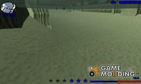 Зимний hud 3.0 для GTA San Andreas