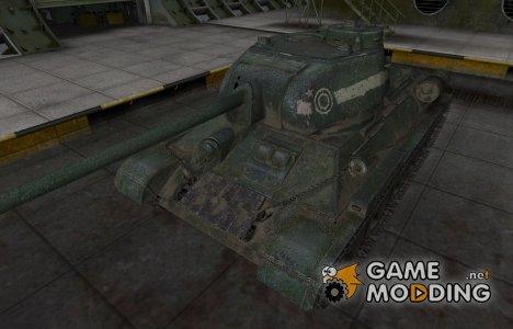 Исторический камуфляж Т-34-85 для World of Tanks
