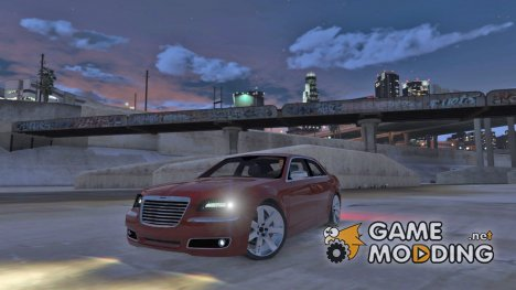 2012 Chrysler 300C для GTA 5