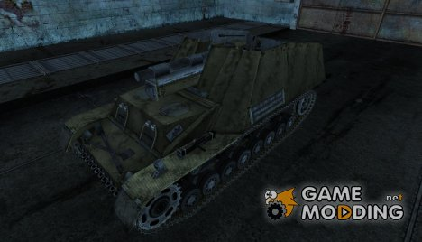 Hummel 1000MHz для World of Tanks