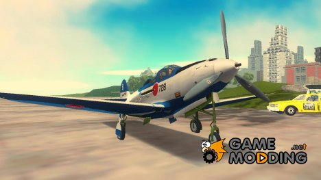 P-39N Airacobra JASDF Blue Impulse for GTA 3