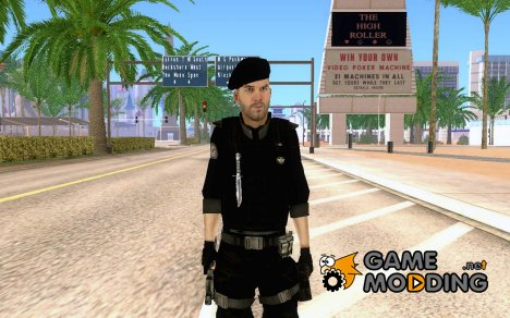 Capitan MacTavish FBI agent для GTA San Andreas