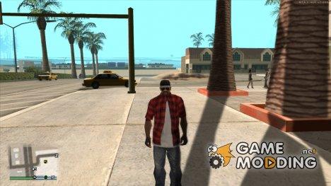 Красная рубашка для GTA San Andreas