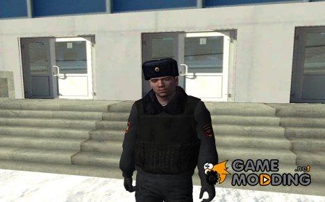 Сотрудник ППС в зимней форме v.2 для GTA San Andreas