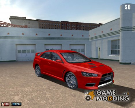 Mitsubishi Lancer EVO X для Mafia: The City of Lost Heaven