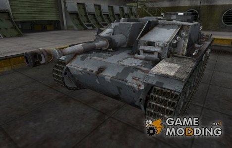 Камуфлированный скин для StuG III for World of Tanks