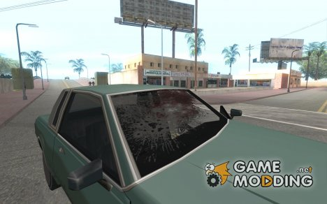 Car crash from GTA IV для GTA San Andreas
