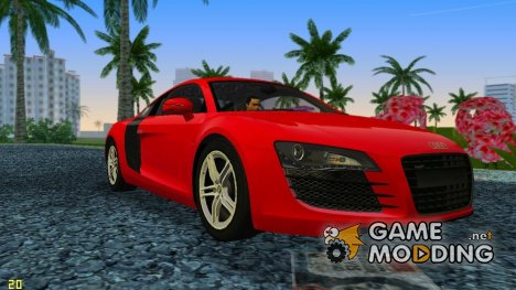 Audi R8 2007 for GTA Vice City