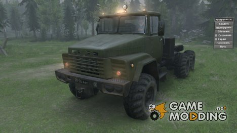 КрАЗ 260 for Spintires 2014