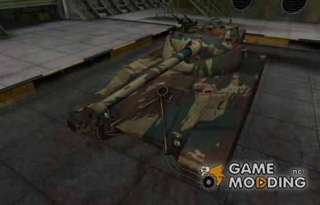 Французкий новый скин для Bat Chatillon 25 t for World of Tanks