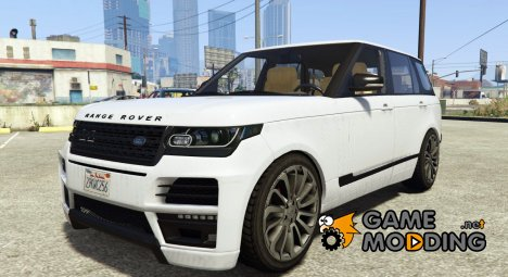 Land Rover Range Rover Startech for GTA 5