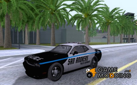 Dodge Challenger SRT8 2010 Police для GTA San Andreas
