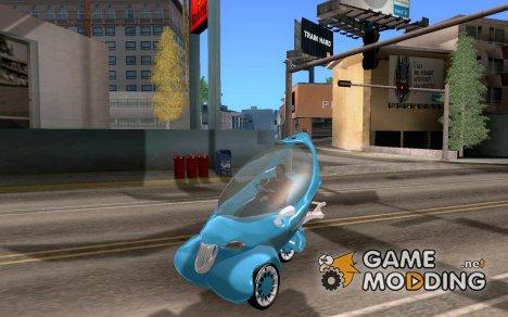 Concept car для GTA San Andreas
