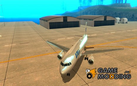 Airbus A-320 авиакомпании UTair for GTA San Andreas