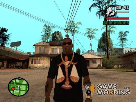 "Футболка с знаком зодиака ""Весы"" для GTA San Andreas"