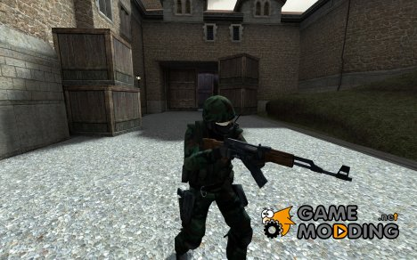 SGT's woodland ct для Counter-Strike Source