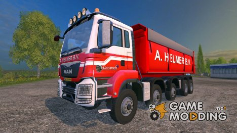 MAN TGS A. Helmer B.V. v1.1 for Farming Simulator 2015
