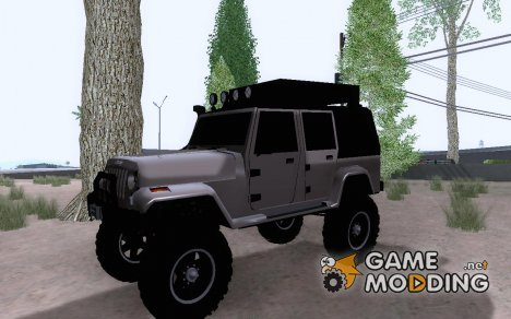 Jeep Rangler Rubicon Unlimited 2012 4x4 для GTA San Andreas