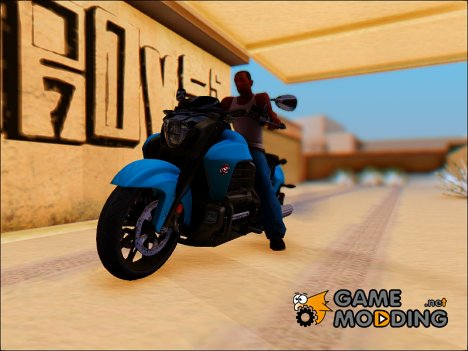 Honda Valkyrie GL1800C 2015 for GTA San Andreas