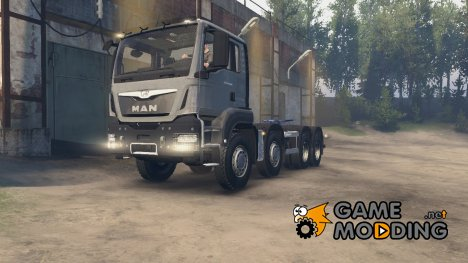 MAN TGS 41.480 for Spintires 2014