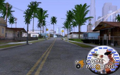 Spedometr v.4 Final for GTA San Andreas