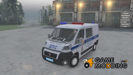 Fiat Ducato «ДПС» for Spintires 2014