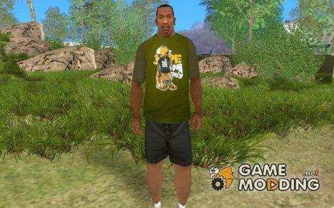 Футболка с обезьянкой for GTA San Andreas