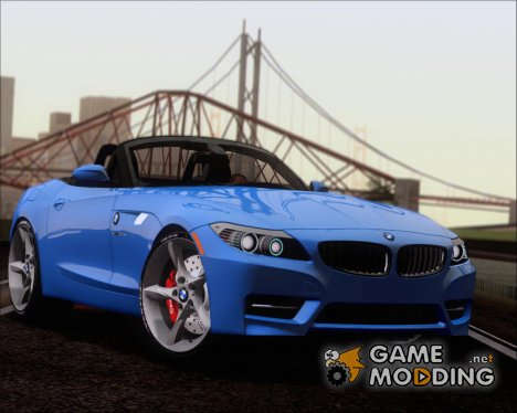 BMW Z4 2011 sDrive35is 2 Extras (HQ) for GTA San Andreas