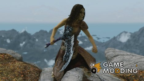 Darksiders 2 Chaos Fang Scythe для TES V Skyrim