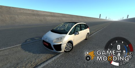 Citroen C4 Picasso for BeamNG.Drive
