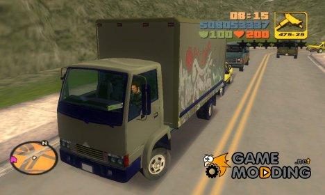 Mule из GTA 4 для GTA 3