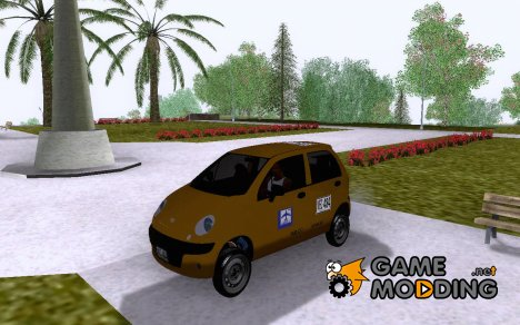 Daewoo Matix Taxi for GTA San Andreas