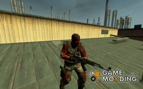 Zombie Terrorists Skins для Counter-Strike Source