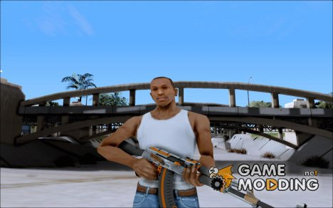 AK47 Carbone edition для GTA San Andreas