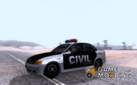 Vectra Policia Civil RS для GTA San Andreas