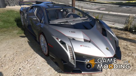 Lamborghini Veneno 2013 for GTA 5