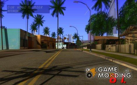Цифровой спидометр для GTA San Andreas