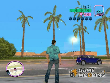 24-7 Sunshine City for GTA Vice City