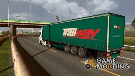 Автономный прицеп KOGEL для Euro Truck Simulator 2
