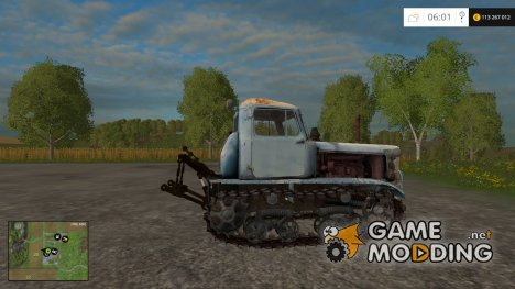 DT 75m Kazakhstan v 2.2 для Farming Simulator 2015
