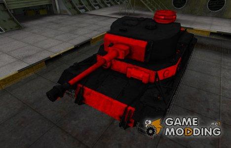 Черно-красные зоны пробития VK 30.01 (P) for World of Tanks