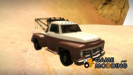 GTA V Tow Truck Cleaned для GTA San Andreas