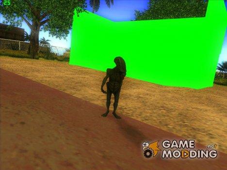 Chromakey for GTA San Andreas