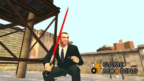 Лазерный меч Star Wars v.3 for GTA 4
