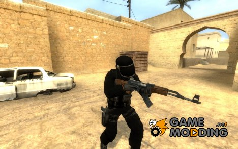 Assault GIGN without skull для Counter-Strike Source