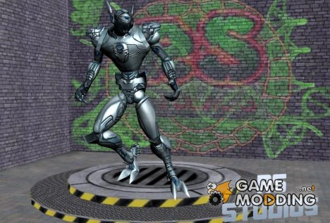 Ultron from Marvel - Ultimate Alliance (Normal Map Plugin) для GTA San Andreas