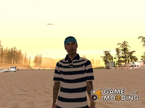 Скин Ацтека for GTA San Andreas